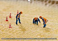 Miniaturfiguren in der Makrowelt ...ganz gross im Garten (Wandkalender 2019 DIN A3 quer) - Produktdetailbild 8