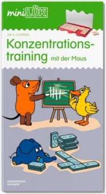 miniLÜK: .40 Konzentrationstraining mit der Maus -  pdf epub