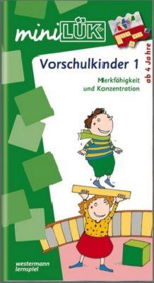 miniLÜK: .40 Übungen für Vorschulkinder - Heinz Vogel pdf epub