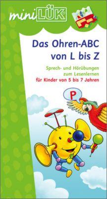 miniLÜK: Das Ohren-ABC von L bis Z