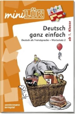 miniLÜK: Deutsch ganz einfach
