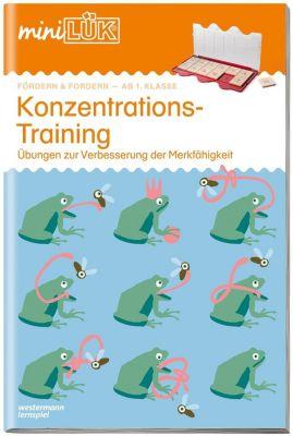 miniLÜK: Konzentrationstraining -  pdf epub