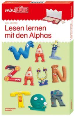 miniLÜK-Set: Bd.71 Lesen lernen mit den Alphas -  pdf epub