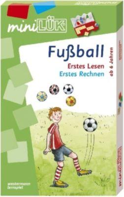 miniLÜK-Set: Fussball: Erstes Lesen / Erstes Rechnen