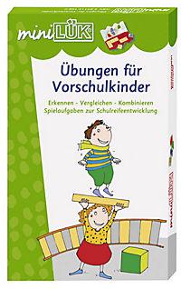 """miniLÜK-Set """"Übungen für Vorschulkinder"""" - Produktdetailbild 1"""