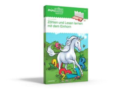 miniLÜK-Set: Zählen und lesen lernen mit dem Einhorn -  pdf epub