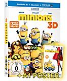 Minions 3D (Blu-ray mit exklusivem Poster)