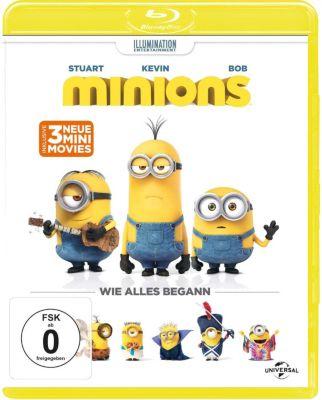 Minions (Blu-ray mit exklusivem Poster)