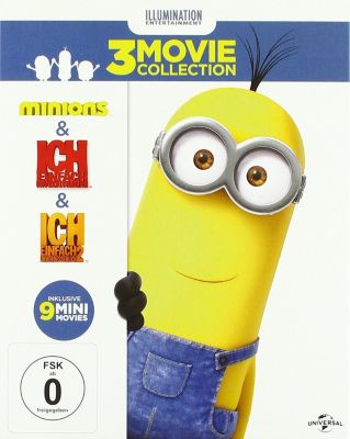 Minions - Box-Set, Steve Carell ( (Originalstimme Gru))