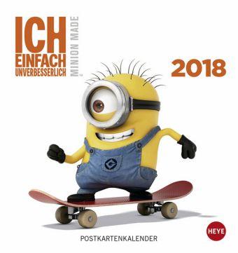 Minions Postkartenkalender 2018