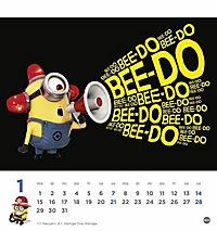 Minions Postkartenkalender 2018 - Produktdetailbild 1