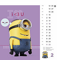 Minions Postkartenkalender 2018 - Produktdetailbild 2