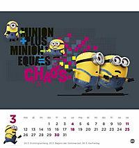 Minions Postkartenkalender 2018 - Produktdetailbild 3
