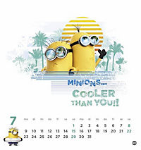 Minions Postkartenkalender 2018 - Produktdetailbild 7