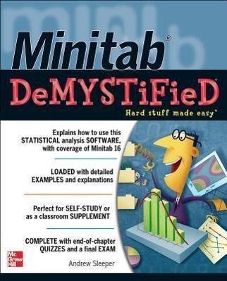 Minitab Demystified, Andrew Sleeper