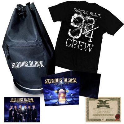 Mirrorworld (Limited Boxset inkl. T-Shirt Gr.L), Serious Black