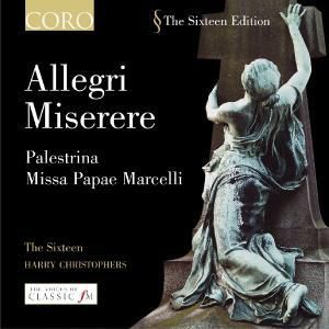 Miserere, The Sixteen, Harry Christophers