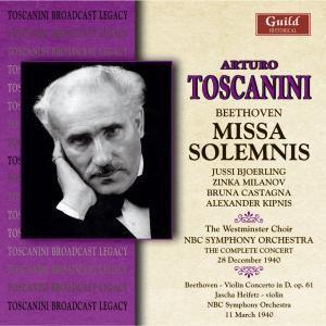Missa Solemnis, Nbc So,heifetz,toscanini Westminster Choir