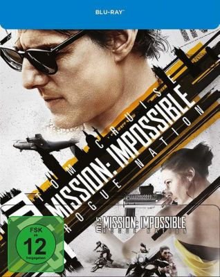 Mission: Impossible 5 - Rogue Nation Limited Steelbook