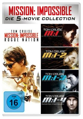 Mission: Impossible - Die 5-Movie-Collection