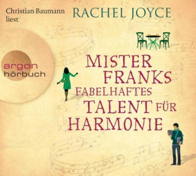 Mister Franks fabelhaftes Talent für Harmonie, 6 Audio-CDs, Rachel Joyce
