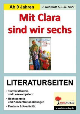 Mit Clara sind wir sechs - Literaturseiten, Jasmin Schmidt, Lynn S Kohl