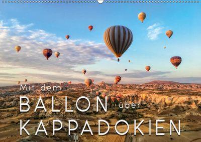 Mit dem Ballon über Kappadokien (Wandkalender 2019 DIN A2 quer), Peter Roder