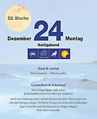 Mit dem Mond im Rhythmus - Abreißkalender 2018 - Produktdetailbild 1