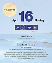 Mit dem Mond im Rhythmus - Abreißkalender 2018 - Produktdetailbild 3