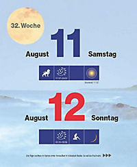 Mit dem Mond im Rhythmus - Abreißkalender 2018 - Produktdetailbild 11
