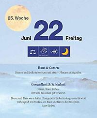 Mit dem Mond im Rhythmus - Abreißkalender 2018 - Produktdetailbild 12