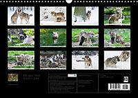 Mit dem Wolf durch's Jahr (Wandkalender 2019 DIN A3 quer) - Produktdetailbild 3