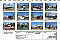 Mit der Straßenbahn quer durch Europa (Wandkalender 2019 DIN A3 quer) - Produktdetailbild 5