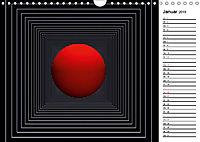 Mit Geometrie durch das Jahr (Wandkalender 2019 DIN A4 quer) - Produktdetailbild 1