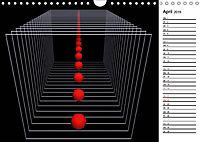 Mit Geometrie durch das Jahr (Wandkalender 2019 DIN A4 quer) - Produktdetailbild 4
