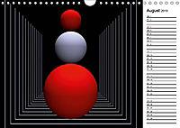 Mit Geometrie durch das Jahr (Wandkalender 2019 DIN A4 quer) - Produktdetailbild 8