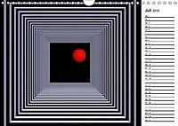 Mit Geometrie durch das Jahr (Wandkalender 2019 DIN A4 quer) - Produktdetailbild 7