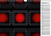 Mit Geometrie durch das Jahr (Wandkalender 2019 DIN A4 quer) - Produktdetailbild 12