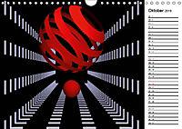 Mit Geometrie durch das Jahr (Wandkalender 2019 DIN A4 quer) - Produktdetailbild 10