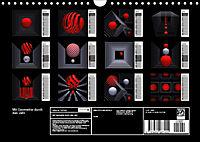 Mit Geometrie durch das Jahr (Wandkalender 2019 DIN A4 quer) - Produktdetailbild 13