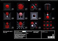 Mit Geometrie durch das Jahr (Wandkalender 2019 DIN A2 quer) - Produktdetailbild 13