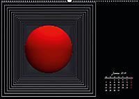 Mit Geometrie durch das Jahr (Wandkalender 2019 DIN A2 quer) - Produktdetailbild 1