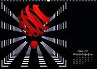 Mit Geometrie durch das Jahr (Wandkalender 2019 DIN A2 quer) - Produktdetailbild 10
