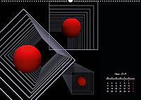 Mit Geometrie durch das Jahr (Wandkalender 2019 DIN A2 quer) - Produktdetailbild 3