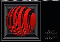Mit Geometrie durch das Jahr (Wandkalender 2019 DIN A2 quer) - Produktdetailbild 2
