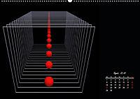 Mit Geometrie durch das Jahr (Wandkalender 2019 DIN A2 quer) - Produktdetailbild 4