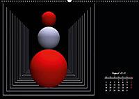 Mit Geometrie durch das Jahr (Wandkalender 2019 DIN A2 quer) - Produktdetailbild 8