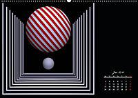 Mit Geometrie durch das Jahr (Wandkalender 2019 DIN A2 quer) - Produktdetailbild 6