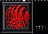 Mit Geometrie durch das Jahr (Wandkalender 2019 DIN A4 quer) - Produktdetailbild 2
