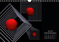 Mit Geometrie durch das Jahr (Wandkalender 2019 DIN A4 quer) - Produktdetailbild 3